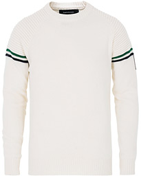 Peak Performance Resort Knitted Crew Neck Off White