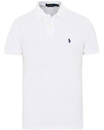 Polo Ralph Lauren Slim Fit Pima Cotton Polo Polo White