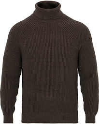 BOSS Gilo Merino Rollneck Brown