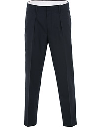 Tiger of Sweden Tarine Cropt Pleated Trousers Navy