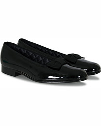 Bowhill & Elliott Opera Patent Leather Pumps Black