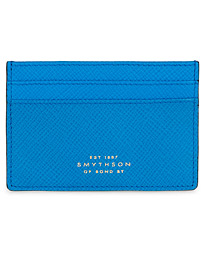 Panama Flat Card Holder Azure