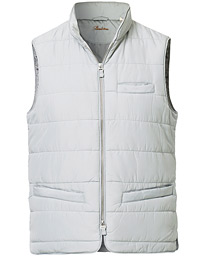 Stenströms Soft Quilted Nylon Vest Grey