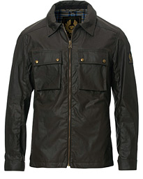 Belstaff Dunstall Waxed Jacket Faded Olive