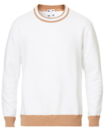 Altea French Terry Sweatshirt Ivory/Camel