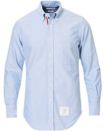 Thom Browne Contrast Oxford Button Down Shirt Light Blue