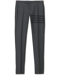 Thom Browne 4 Bar Skinny Fit Trousers Grey