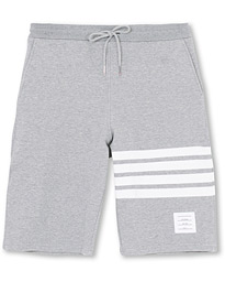 Thom Browne 4 Bar Loopback Sweatshorts Light Grey