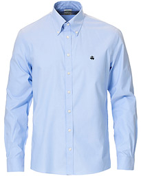 Milano Fit Non Iron Button Down Shirt Light Blue