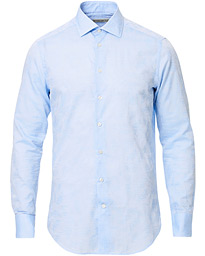 Etro Slim Fit Tonal Paisley Shirt Light Blue