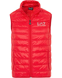 EA7 Train Core Light Down Vest Racing Red