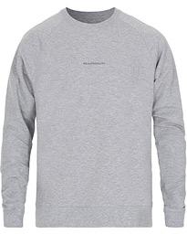 NN07 Robin Logo Crew Neck Sweatshirt Navy hos CareOfCarl.no