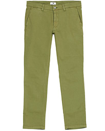 NN07 Marco Slim Fit Stretch Chinos Light Green