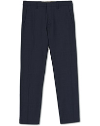 NN07 Theo Wool Trousers Light Navy