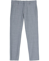 NN07 Theo Wool Trousers Grey Melange
