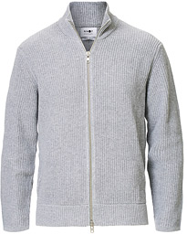 NN07 Pite Full Zip Medium Grey