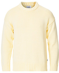 NN07 Jason Knitted Crew Neck Yellow