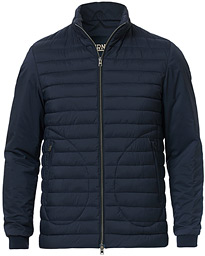Herno Nuage Matt Nylon Padded Bomber Deep Blue