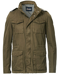 Herno Cotton Field Jacket Military Green