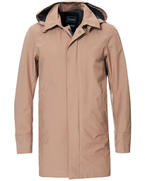 Herno Laminar Waterproof Gore Tex Coat Beige