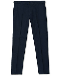J.Lindeberg Grant Cotton/Linen Trousers Navy