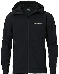 Peak Performance Adventure Hooded Jacket Black