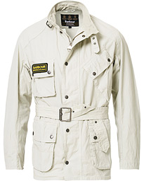 Barbour International Summer Wash A7 Casual Jacket Sand
