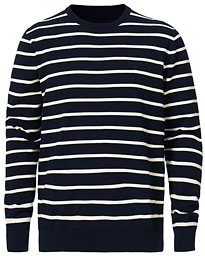 Barbour Lifestyle Bight Stripe Crew Neck Navy/White