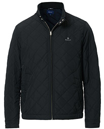 GANT The Quilted Windcheater Jacket Black