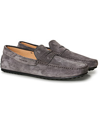 Tod's City Gommino Grey Suede