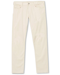 Emporio Armani J06 Slim Fit 5-Pocket Trousers Beige