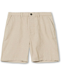 Lyle & Scott Cotton/Linen Shorts Stone