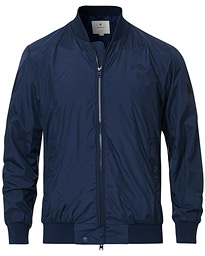 Woolrich Shore Bomber Jacket Navy