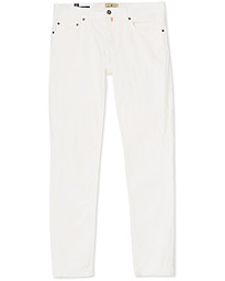 Morris James Textured 5-Pocket Pants Off White