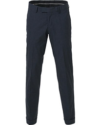 Tiger of Sweden Tilman Turn Up Trousers Navy