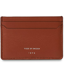 Tiger of Sweden Forsta Credit Card Holder Cognac