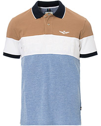 Aeronautica PO1428 Polo Khaki/Off White/Oxford