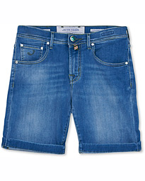Jacob Cohën 6636 Jeans Shorts Mid Blue