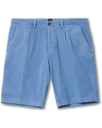 BOSS Slice Pleated Shorts Blue