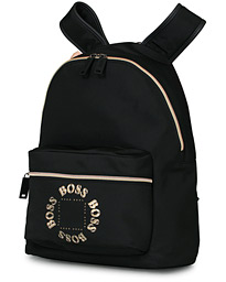 BOSS Pixel Circle Backpack Black/Gold