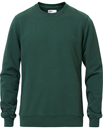 Colorful Standard Classic Organic Crew Neck Sweat Emerald Green