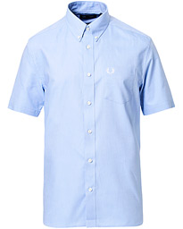 Classic Oxford Short Sleeve Shirt Light Blue