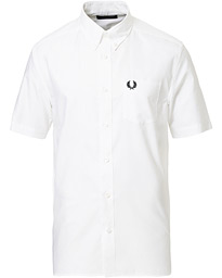 Classic Oxford Short Sleeve Shirt White