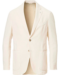 L.B.M. 1911 Jack Regular Fit Cotton/Linen Structured Blazer Cream