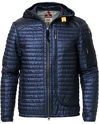 Parajumpers Stanley Extra Lightweight Hooded Jacket Navy