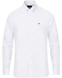 Hackett Button Down Oxford Shirt White