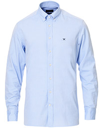 Hackett Button Down Oxford Shirt Light Blue