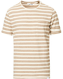 Samsøe & Samsøe Carpo Striped Short Sleeve Tee Monks Robe