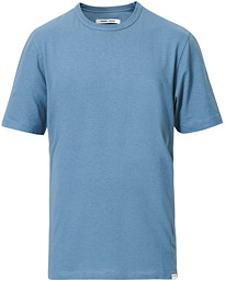 Samsøe & Samsøe Hugo Organic Cotton Tee Blue Mirage