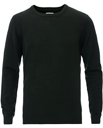 A Day's March Classic Merino Crew Neck Seaweed Green
